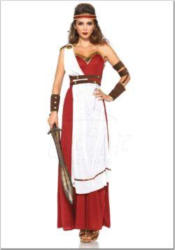 Ókori Spártai Istennő jelmez az EveNue Costumes jelmezkölcsönző szalon kínálatából