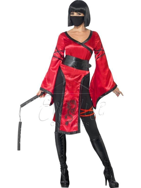 Ninja farsangi női jelmez az EveNue COSTUMES jelmezkölcsönző szalon kínálatából