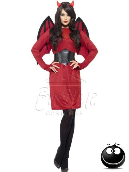 Ördög Halloween női jelmez az EveNue COSTUMES jelmezkölcsönző szalon kínálatából