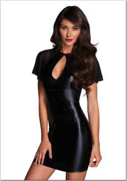 Fekete női ruha az EveNue Costumes jelmezkölcsönző szalon kínálatából