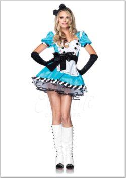 Alice női farsangi jelmez az EveNue Costumes jelmezkölcsönző szalon kínálatából