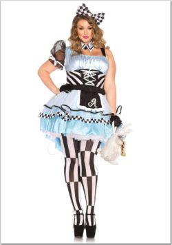 Alice női jelmez az EveNue Costumes jelmezkölcsönző szalon kínálatából