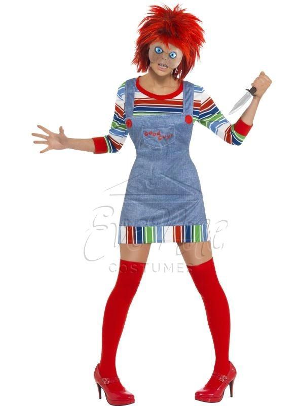 Chucky női jelmez az EveNue COSTUMES jelmezkölcsönző szalon kínálatából