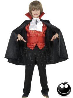 Dracula vámpír fiú jelmez az EveNue COSTUMES jelmezkölcsönző szalon kínálatából