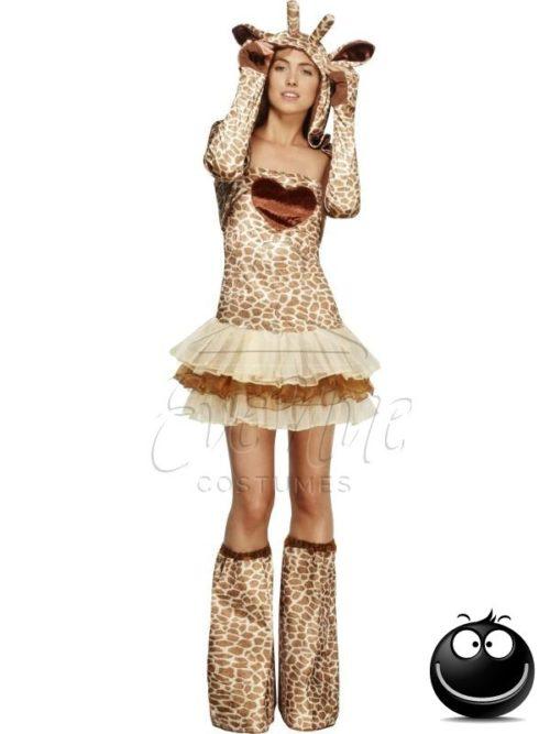 Zsiráf női állat jelmez az EveNue COSTUMES jelmezkölcsönző szalon kínálatából
