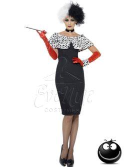 Gonosz Madame női jelmez az EveNue COSTUMES jelmezkölcsönző szalon kínálatából