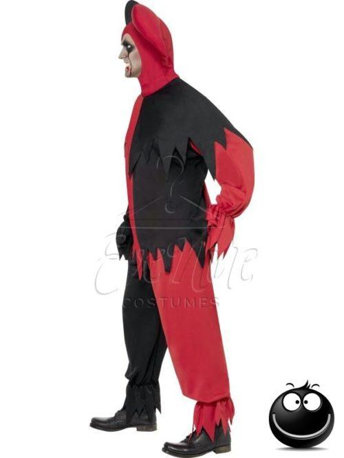 Gonosz tréfamester férfi jelmez az EveNue COSTUMES jelmezkölcsönző szalon kínálatából