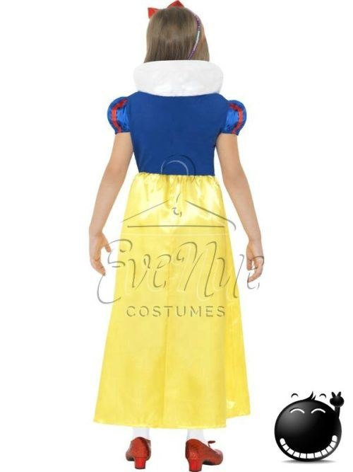 Hófehérke lány jelmez az EveNue COSTUMES jelmezkölcsönző szalon kínálatából