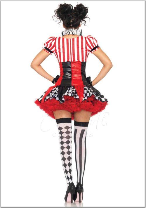 Harleguin bohóc női jelmez az EveNue Costumes jelmezkölcsönző szalon kínálatából