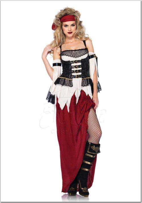 Kalóz női jelmez az EveNue Costumes jelmezkölcsönző szalon kínálatából
