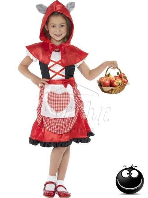 Piroska lány jelmez az EveNue COSTUMES jelmezkölcsönző szalon kínálatából
