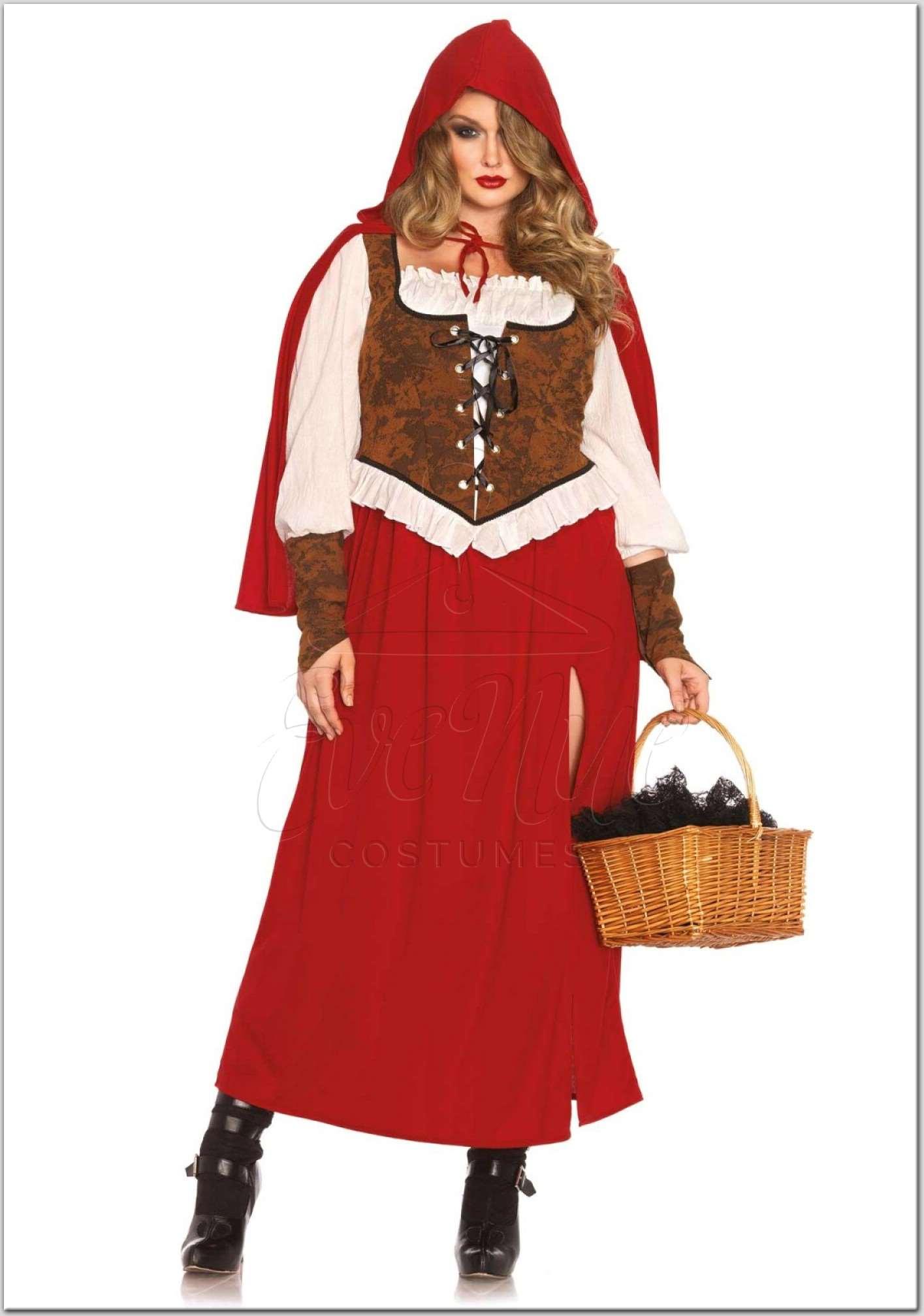 Klasszikus Piroska női jelmez az EveNue Costumes jelmezkölcsönző szalon kínálatából