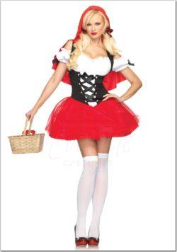 Piroska női farsangi jelmez az EveNue Costumes jelmezkölcsönző szalon kínálatából
