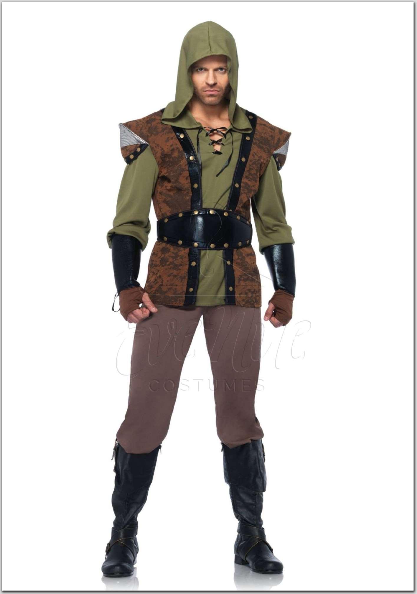 Robin Hood férfi jelmez az EveNue Costumes jelmezkölcsönző szalon kínálatából