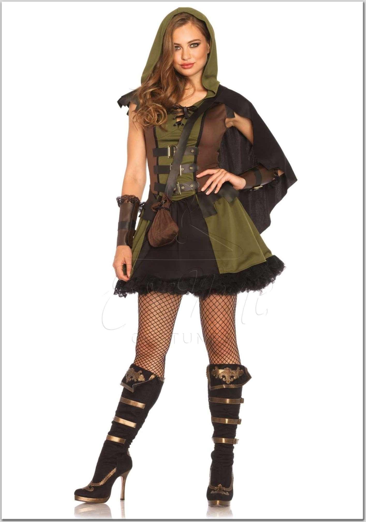 Robin Hood női jelmez az EveNue Costumes jelmezkölcsönző szalon kínálatából