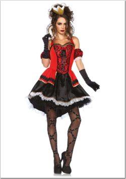 Sötétség királynője női jelmez az EveNue Costumes jelmezkölcsönző szalon kínálatából