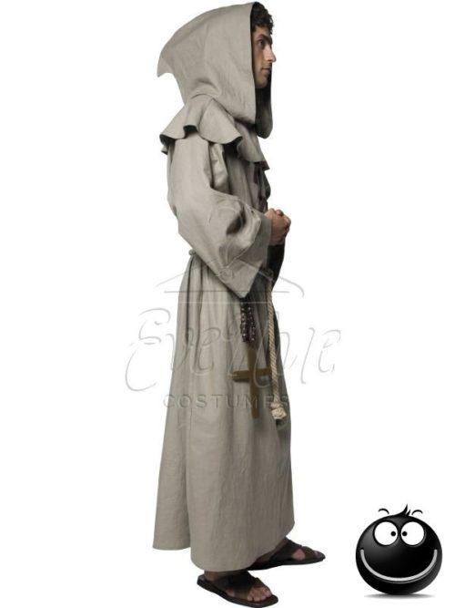 Szerzetes férfi jelmez az EveNue COSTUMES jelmezkölcsönző szalon kínálatából