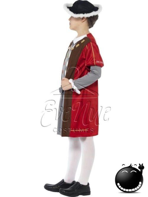 Reneszánsz fiú jelmez az EveNue COSTUMES jelmezkölcsönző szalon kínálatából