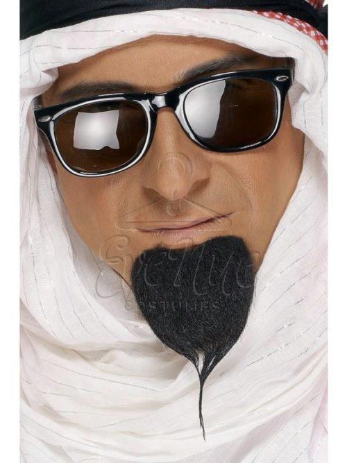 Arab fekete szakáll az EveNue COSTUMES jelmezkölcsönző szalon kínálatából