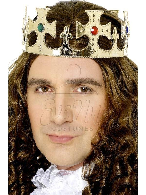 Királyi korona az EveNue COSTUMES jelmezkölcsönző szalon kínálatából