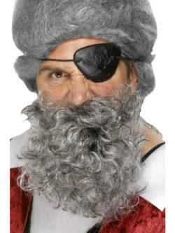 Ősz kalóz szakáll az EveNue COSTUMES jelmezkölcsönző szalon kínálatából