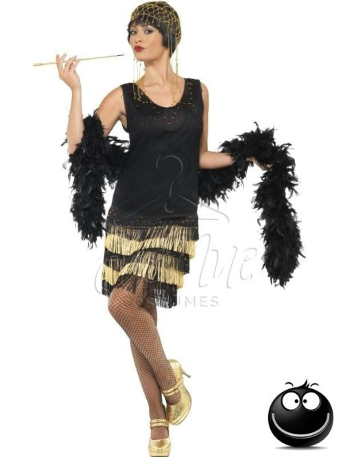 Charleston női jelmez az EveNue COSTUMES jelmezkölcsönző szalon kínálatából
