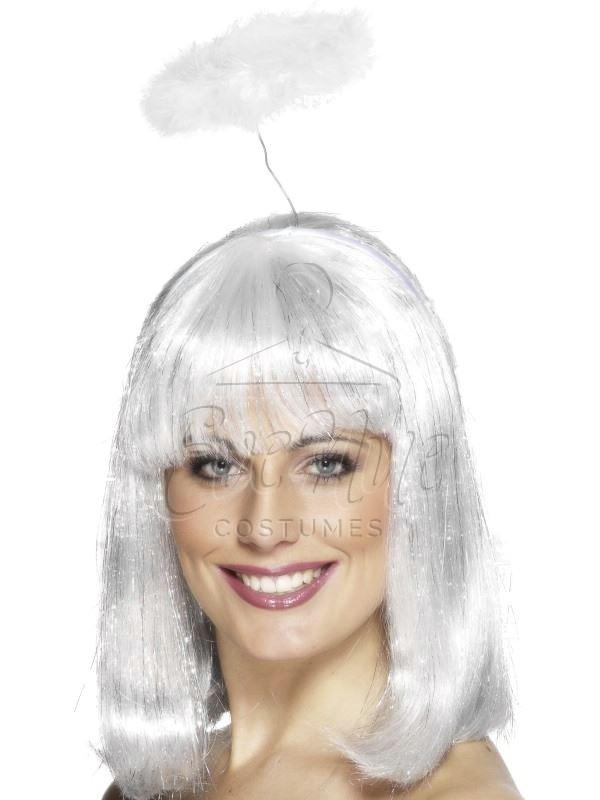 Fehér angyal glória az EveNue COSTUMES jelmezkölcsönző szalon kínálatából