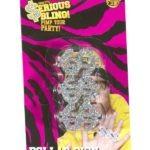 Dollár jeles rapper gyűrű az EveNue COSTUMES jelmezkölcsönző szalon kínálatából