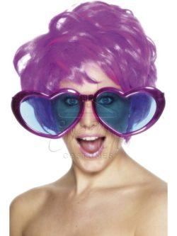 Óriás szív alakú szemüveg az EveNue COSTUMES jelmezkölcsönző szalon kínálatából