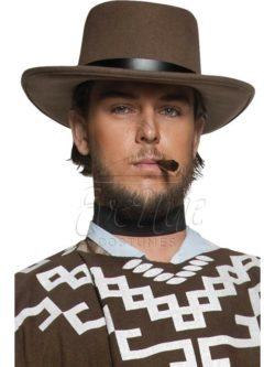 Barna western kalap az EveNue COSTUMES jelmezkölcsönző szalon kínálatából