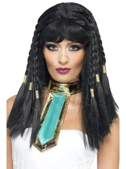 Kleopátra karakter paróka az EveNue COSTUMES jelmezkölcsönző szalon kínálatából