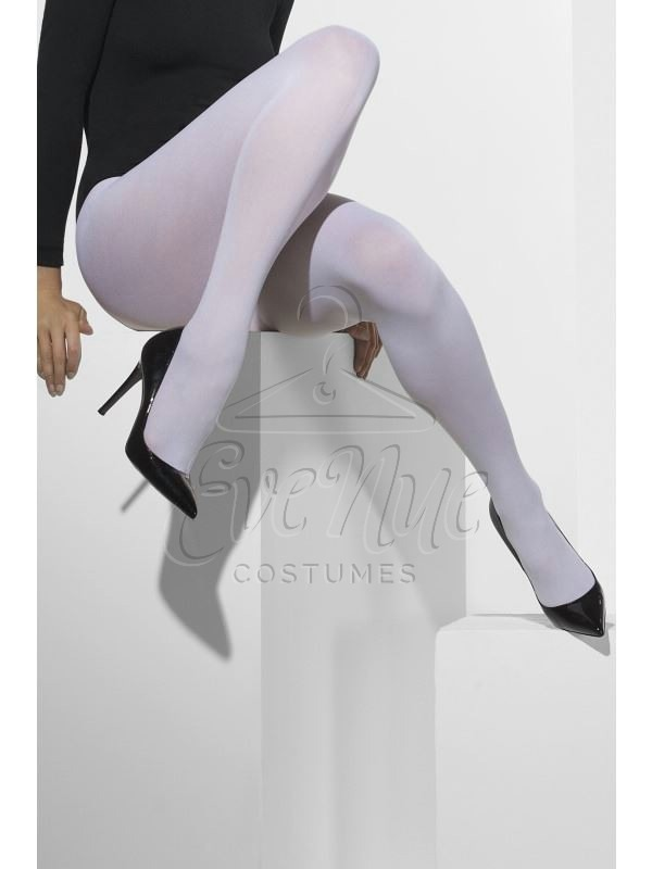 Fehér harisnyanadrág az EveNue COSTUMES jelmezkölcsönző szalon kínálatából