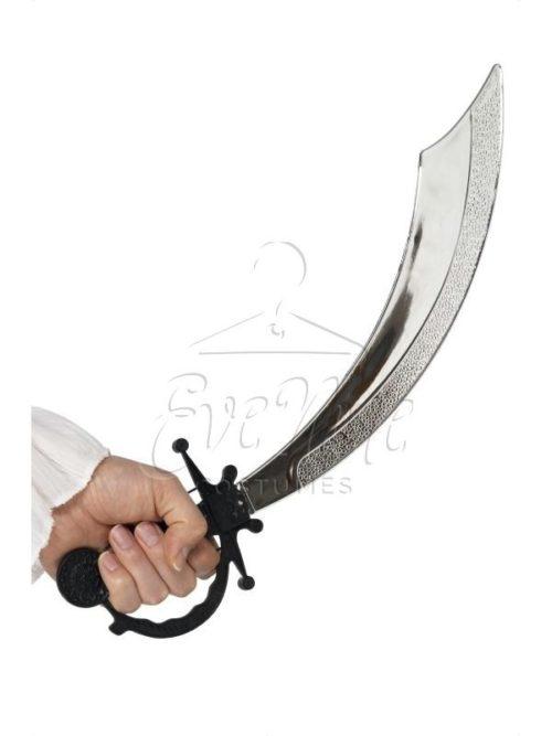 Kalóz kard az EveNue COSTUMES jelmezkölcsönző szalon kínálatából