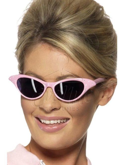 Rózsaszín szemüveg az EveNue COSTUMES jelmezkölcsönző szalon kínálatából