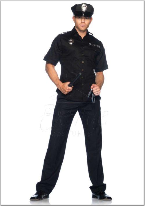 Amerikai rendőr férfi jelmez az EveNue jelmezkölcsönző kínálatából