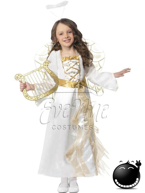 Karácsonyi angyal lány jelmez az EveNue COSTUMES jelmezkölcsönző szalon kínálatából