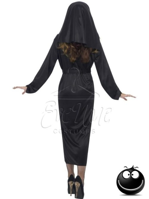 Klasszikus apáca női jelmez az EveNue COSTUMES jelmezkölcsönző szalon kínálatából