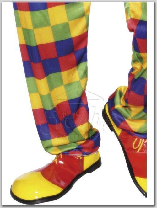 Bohóc cipő farsangi jelmez az EveNue Costumes jelmezkölcsönző szalon kínálatából