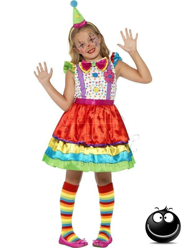 Bohóc lány jelmez az EveNue COSTUMES jelmezkölcsönző szalon kínálatából