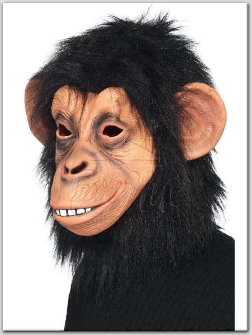 Csimpánz maszk az EveNue Costumes jelmezkölcsönző szalon kínálatából