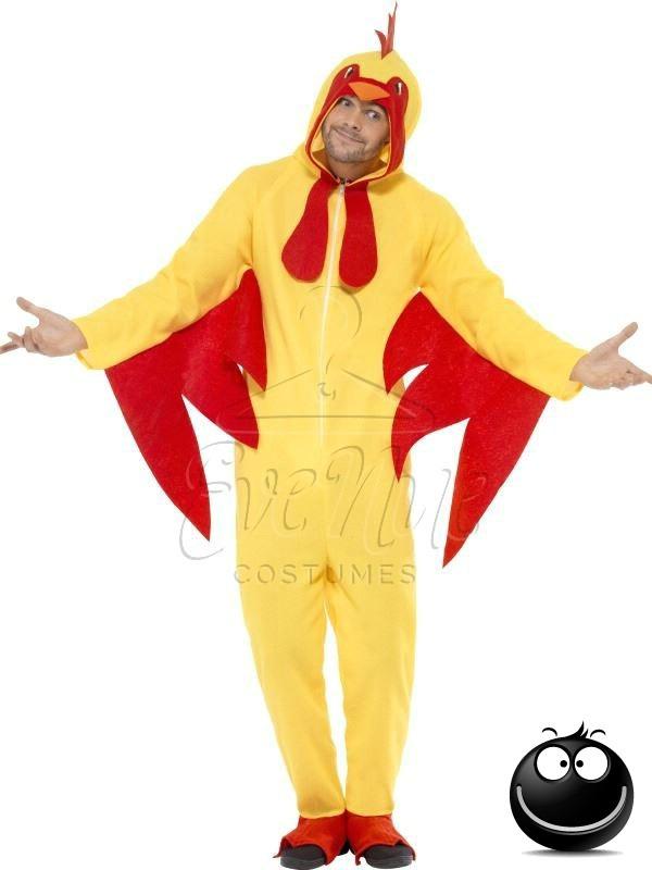 Csirke felnőtt állat jelmez az EveNue COSTUMES jelmezkölcsönző szalon kínálatából