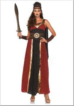 Ókori harcosnő jelmez az EveNue Costumes jelmezkölcsönző szalon kínálatából