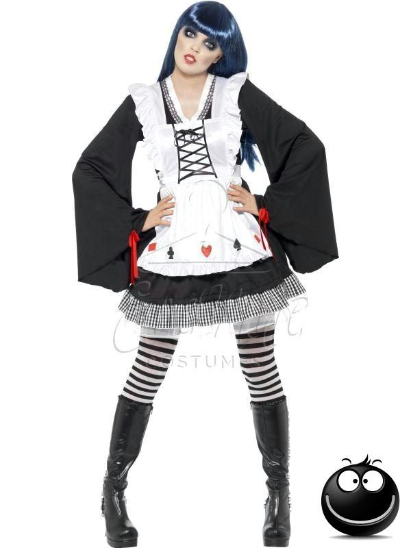 Gótikus Alice Halloween női jelmez az EveNue COSTUMES jelmezkölcsönző szalon kínálatából