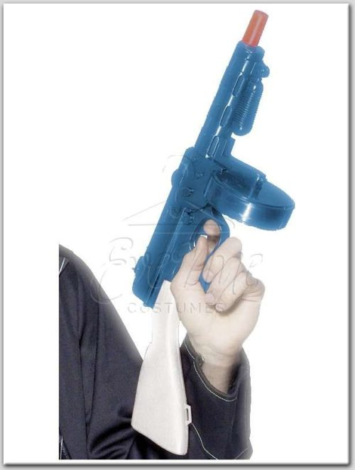 Gengszter fegyver az EveNue Costumes jelmezkölcsönző szalon kínálatából