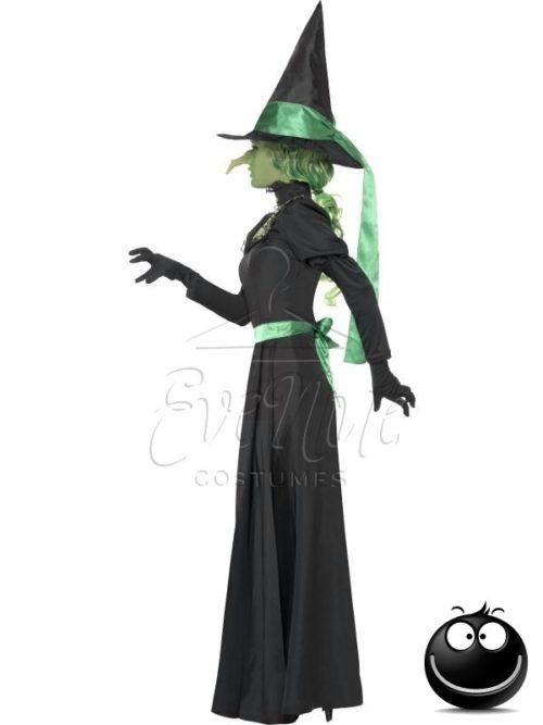 Gonosz boszorkány Halloween női jelmez az EveNue COSTUMES jelmezkölcsönző szalon kínálatából
