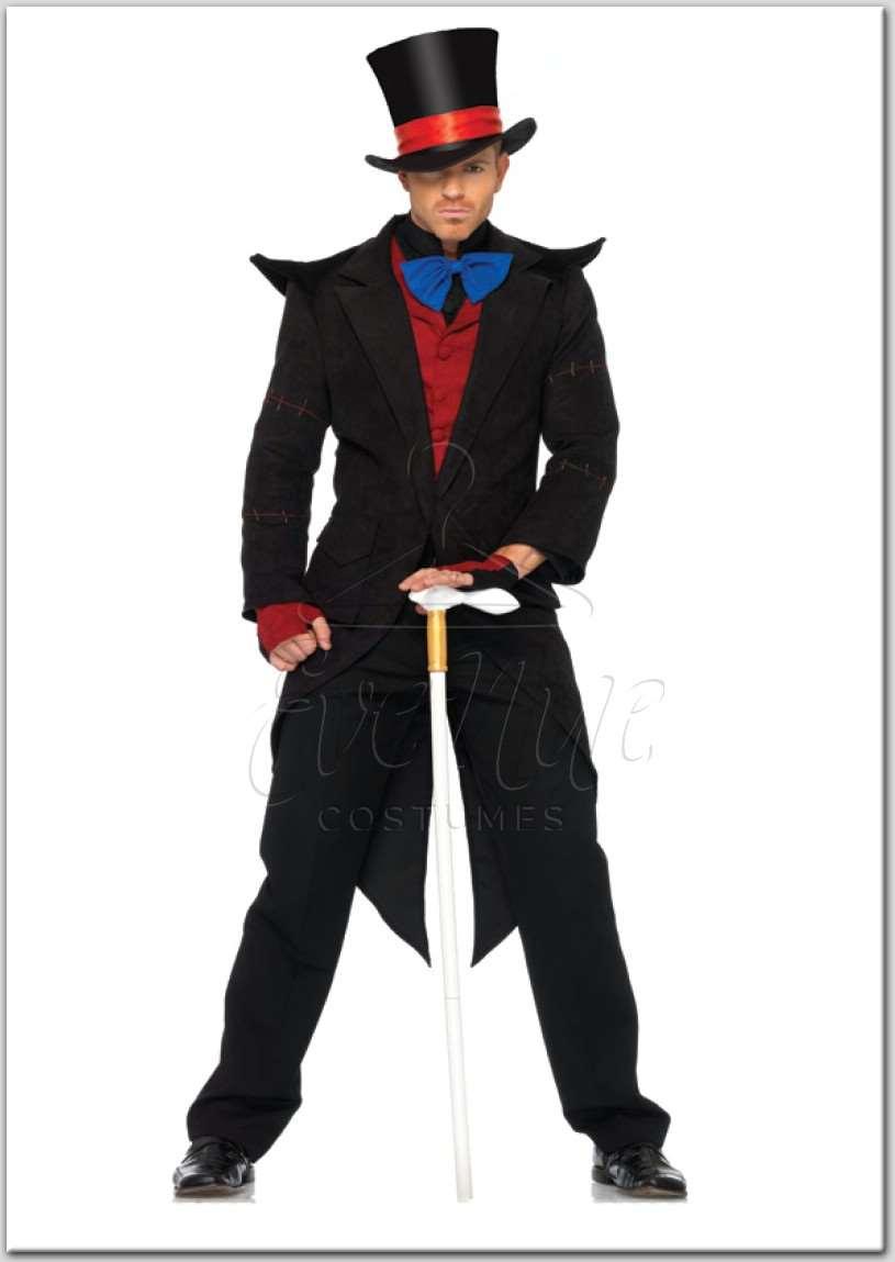 Gonosz Kalapos Úr jelmez az EveNue Costumes jelmezkölcsönző szalon kínálatából