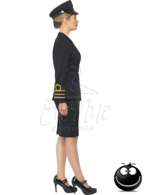 Haditengerész tiszt női farsangi jelmez az EveNue COSTUMES jelmezkölcsönző szalon kínálatából