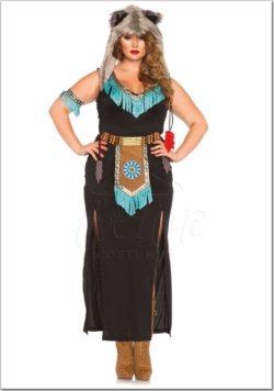 Indián női jelmez az EveNue Costumes jelmezkölcsönző szalon kínálatából