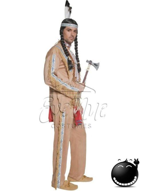 Indián férfi jelmez az EveNue COSTUMES jelmezkölcsönző szalon kínálatából
