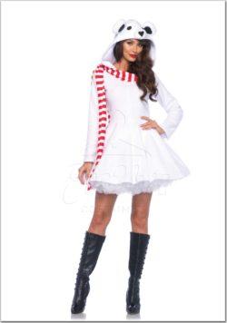 Jegesmedve női jelmez az EveNue Costumes jelmezkölcsönző szalon kínálatából